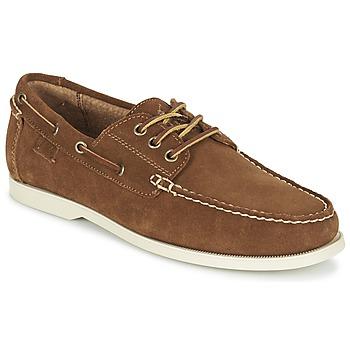 Sapatos Homem Sapato de vela Ralph Lauren BIENNE II Castanho