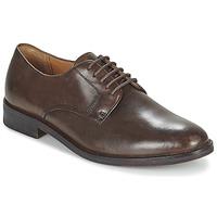 Sapatos Homem Sapatos Ralph Lauren MOLLINGTON Castanho