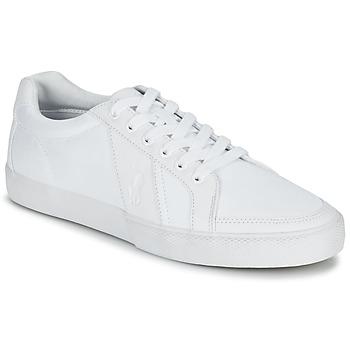 Sapatos Homem Sapatilhas Ralph Lauren HUGH Branco