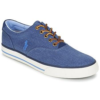 Sapatos Homem Sapatilhas Ralph Lauren VAUGHN Azul