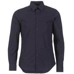 Textil Homem Camisas mangas comprida G-Star Raw CORE SHIRT Marinho