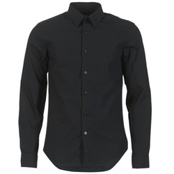 Textil Homem Camisas mangas comprida G-Star Raw CORE SHIRT Preto