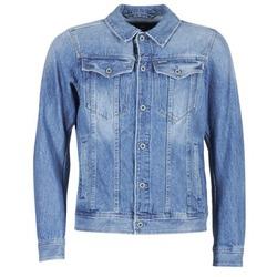 Textil Homem casacos de ganga G-Star Raw 3301 DECONSTRUCTED 3D SLIM Azul