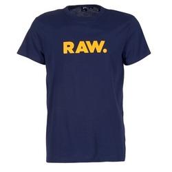 Textil Homem T-Shirt mangas curtas G-Star Raw RAW DOT Marinho