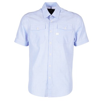 Textil Homem Camisas mangas curtas G-Star Raw LANDOH Azul