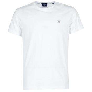 Textil Homem T-Shirt mangas curtas Gant THE ORIGINAL T-SHIRT Branco
