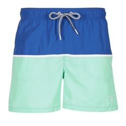 Textil Homem Fatos e shorts de banho Gant CUT & SEWN SWIM SHORT Verde / Marinho
