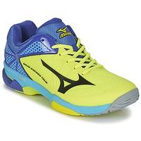 Sapatos Homem Sapatilhas de ténis Mizuno WAVE EXCEED TOUR 2 CC Amarelo / Preto
