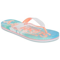 Sapatos Mulher Chinelos Superdry SUPERDRY AOP FLIP FLOP Rosa