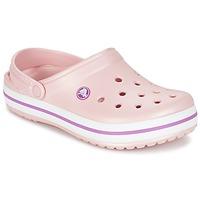 Sapatos Mulher Tamancos Crocs CROCBAND Rosa