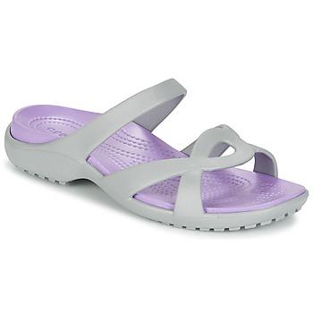 Sapatos Mulher Sandálias Crocs MELEEN TWIST Cinza