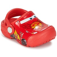 Sapatos Criança Tamancos Crocs Crocs Funlab Light CARS 3 Movie Clog Vermelho