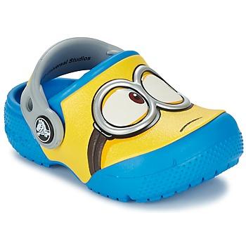 Sapatos Criança Tamancos Crocs Crocs Funlab Despicalbe me 3 Azul