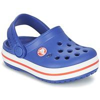 Sapatos Criança Tamancos Crocs Crocband Clog Kids Azul