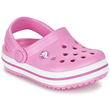 Sapatos Criança Tamancos Crocs Crocband Clog Kids Rosa