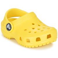 Sapatos Criança Tamancos Crocs Classic Clog Kids Amarelo