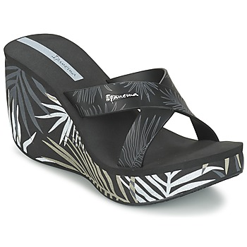 Sapatos Mulher Chinelos Ipanema LIPSTICK STRAPS III Preto