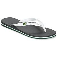 Sapatos Homem Chinelos Ipanema CLASSICA BRASIL II Preto / Branco