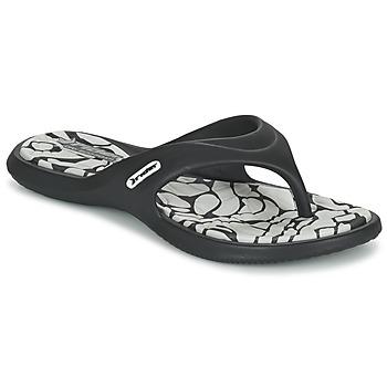 Sapatos Mulher Chinelos Rider ISLAND VIII Preto / Cinza