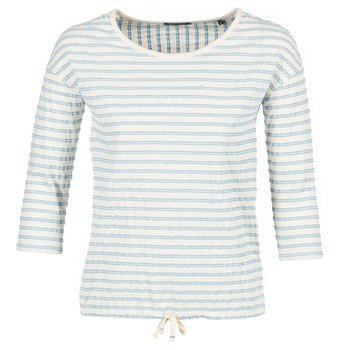 Textil Mulher Tops / Blusas Marc O'Polo GRASSIRCO Branco / Azul