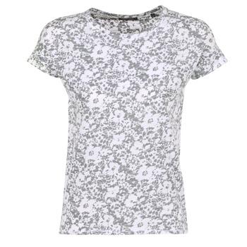 Textil Mulher T-Shirt mangas curtas Marc O'Polo BRIDELOPAC Cinza / Branco