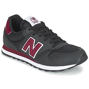 Sapatos Sapatilhas New Balance GM500 Preto / Bordô