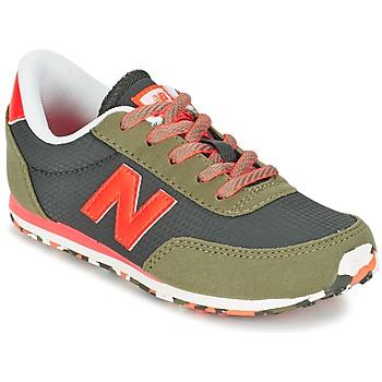 Sapatos Criança Sapatilhas New Balance KL410 Verde / Cinza / Laranja
