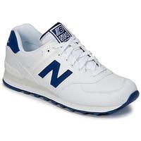 Sapatos Sapatilhas New Balance ML574 Branco / Azul