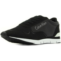 Sapatos Mulher Sapatilhas Calvin Klein Jeans Tori Reflex Nylon Microfibre Preto