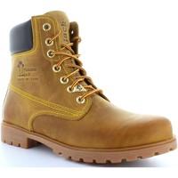 Sapatos Homem Botins Panama Jack PANAMA 03 C1 Beige