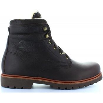 Sapatos Homem Botins Panama Jack PANAMA 03 AVIATOR C1 NAPA GRASS MARRON Marrón