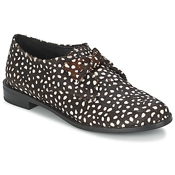 Sapatos Mulher Sapatos F-Troupe Bow Polka Preto / Branco