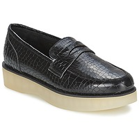 Sapatos Mulher Mocassins F-Troupe Penny Loafer Preto