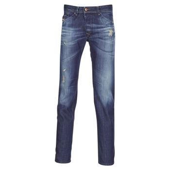 Textil Homem Calças Jeans Diesel DARRON Azul