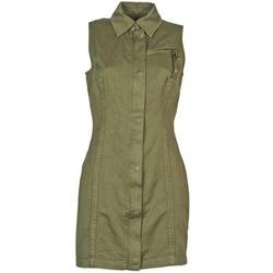 Textil Mulher Vestidos curtos Diesel D-NAOMIE Cáqui