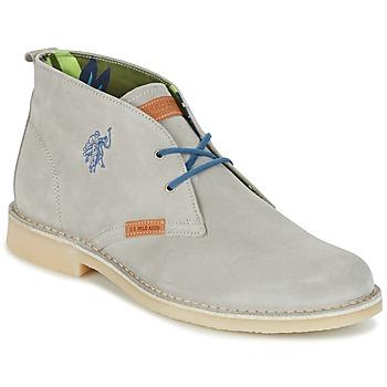 Sapatos Homem Botas baixas U.S Polo Assn. AMADEUS Cinza