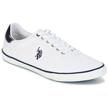 Sapatos Homem Sapatilhas U.S Polo Assn. RAY Branco