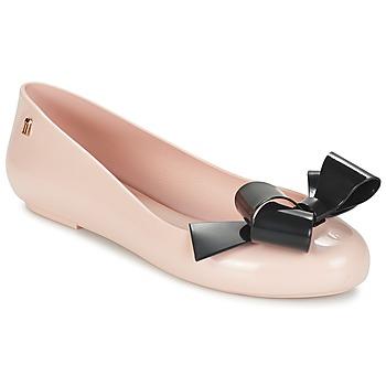 Sapatos Mulher Sabrinas Melissa SPACE LOVE IV Rosa / Preto