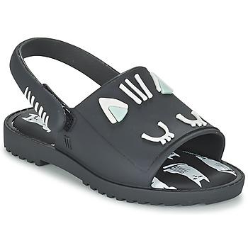Sapatos Rapariga Sandálias Melissa MIA FABULA Preto