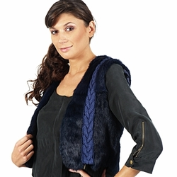 Textil Mulher Casacos/Blazers April First GILET SANS MANCHE Azul