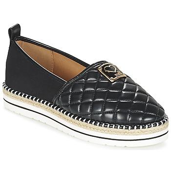 Sapatos Mulher Alpargatas Love Moschino JA10093G13 Preto