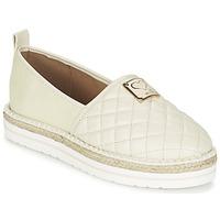 Sapatos Mulher Alpargatas Love Moschino JA10093G13 Creme