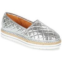 Sapatos Mulher Alpargatas Love Moschino JA10313G03 Prata