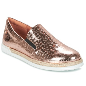 Sapatos Mulher Slip on Love Moschino JA10353G03 Ouro / Rosa