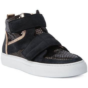 Sapatos Mulher Sapatilhas de cano-alto Logan CROSSING Marrone