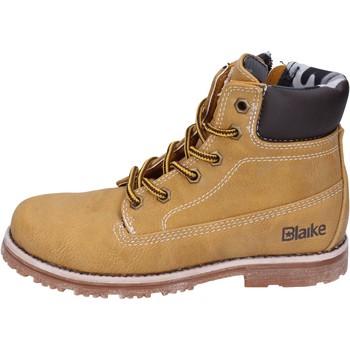 Sapatos Rapaz Botas baixas Blaike AH151 Amarelo
