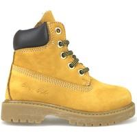 Sapatos Rapariga Botas baixas Didiblu Botins AJ956 Amarelo
