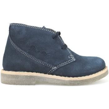 Sapatos Rapariga Botins Didiblu Botins AH177 Azul