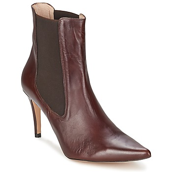 Sapatos Mulher Botins Alba Moda PIMTY Castanho