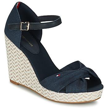 Sapatos Mulher Sandálias Tommy Hilfiger ELENA 3DI Marinho
